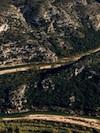 Vue aérienne des gorges du Dardon_©Regard du vivant